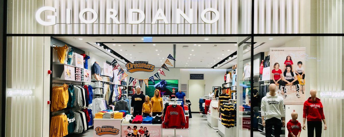 Giordano Launches New Customer Centric Stores – Global Expansion Continues